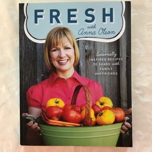 Other - Signed by Anna - Fresh with Anna Olsen cookbook